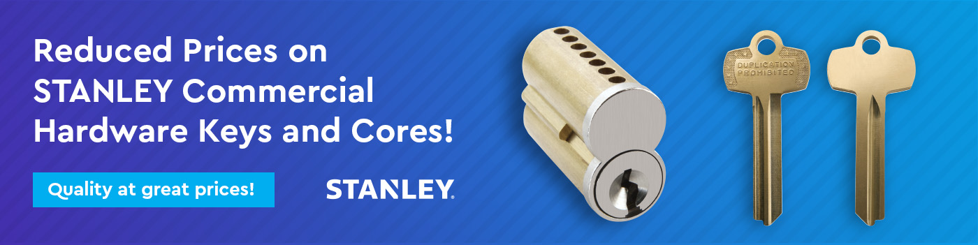 STANLEY Core and keys Reduced Prices