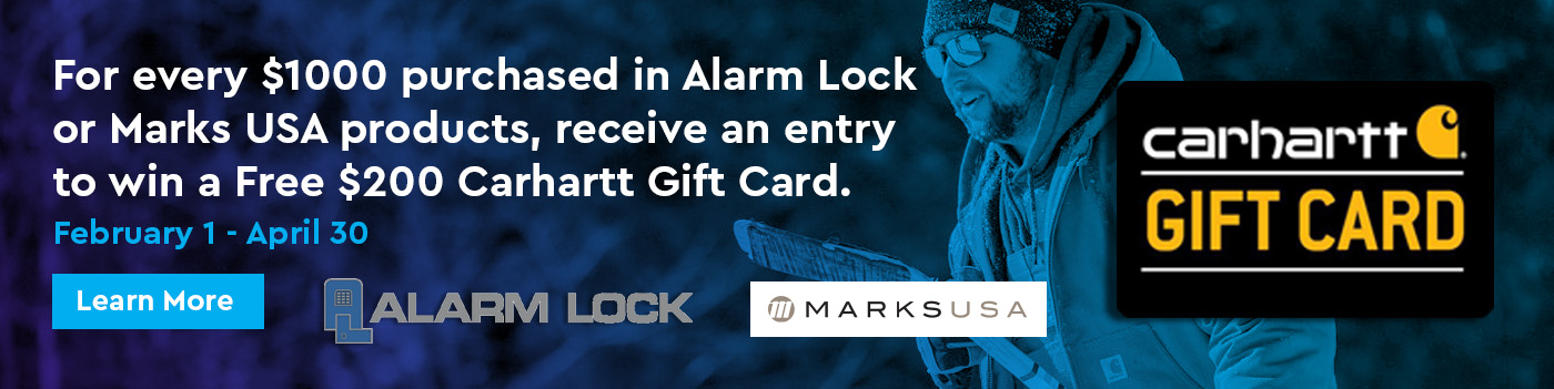 Alarm Lock and Marks Carhartt Promotion