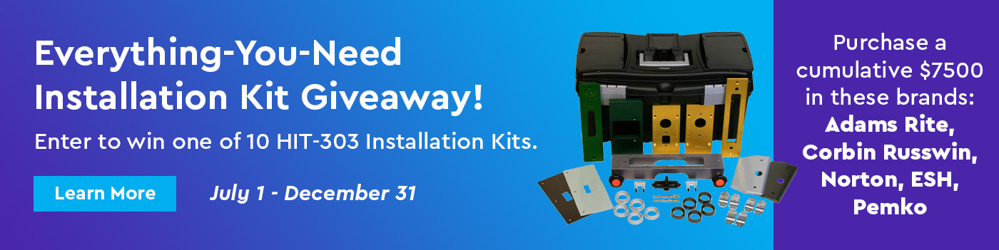 Enter to win one of 10 HIT-303 Installation Kits