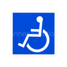 6 x 6 Handicapped Symbol Decal