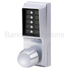 1000 Series Mechanical Pushbutton Cylindrical Knob Lock