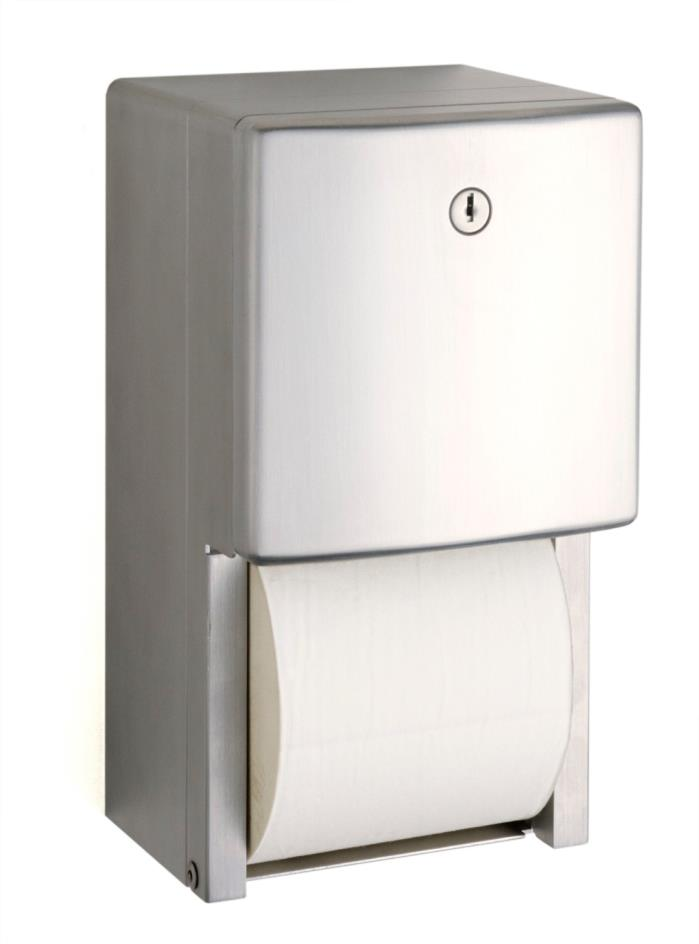 B-4288 Surface-Mounted Multi-Roll Toilet Tissue Dispenser