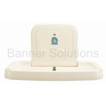 Horizontal, Wall-Mounted Baby Changing Station