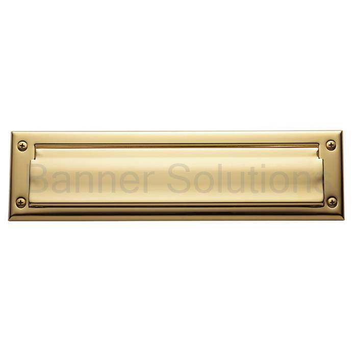 Letter Box Plate