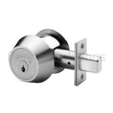 Single Cylinder Maxum Deadbolt-Biaxial, Sub-Assembled