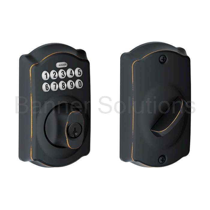 BE365 Camelot Electronic Keypad Deadbolt