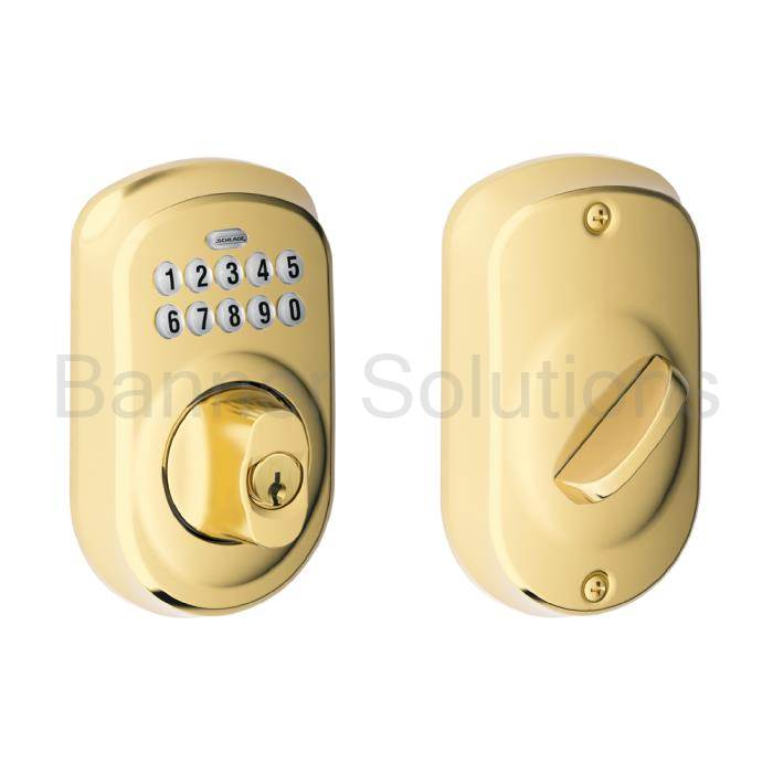 BE365 Plymouth Electronic Keypad Deadbolt