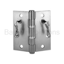 McKinney 5 Knuckle Ball Bearing Electric Full Mortise Hinge - 8 Wire