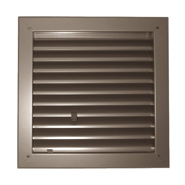 "Model 1900-A Fire Rated Louver - 18"" x 12"""
