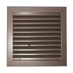 "Model 1900-A Fire Rated Louver - 18"" x 18"""