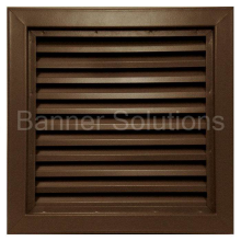 "800 Series Inverted Y-Blade Louver - 12"" x 12"""