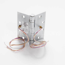 5 Knuckle Ball Bearing Electric Full Mortise Hinge - 8 Wire