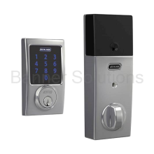 BE469NX Century Schlage Connect Deadbolt with Alarm