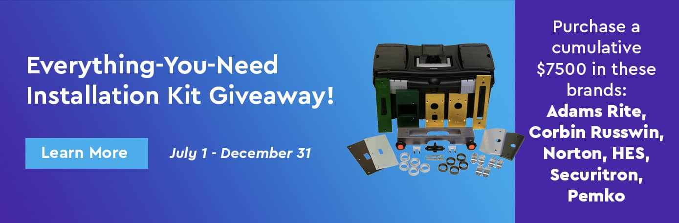 Enter to win one of 10 HIT-303 Installation Kits Banner Image