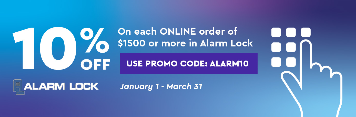 Get Access to Alarm Lock Specials Banner Image